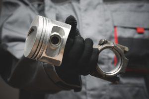 Automotive piston connecting rod