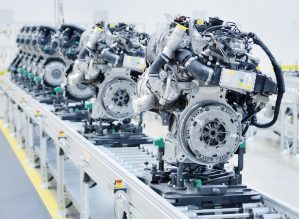Automotive engine production
