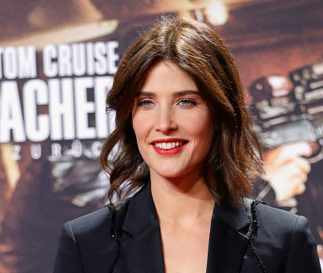 Cobie Smulders Jack Reacher Never Go Back Nearly Featured A Smoking Hot Sex Scene Image Getty Images
