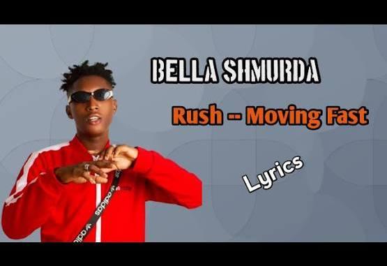 Bella Shmurda - Rush || Moving Fast (Official Lyrics Video)
