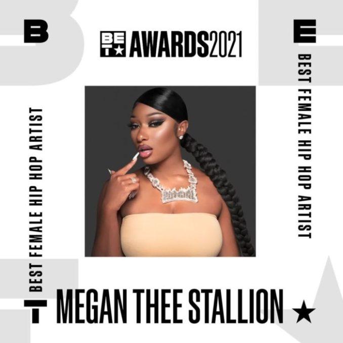 Megan Thee Stallion BET Awards