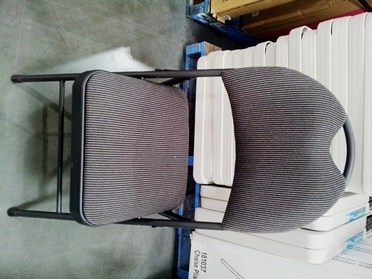 folding chair australia with arm table need extra chairs or tables for your guests loaded trolley padded costco
