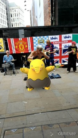Courtesy of Robert from Team Mystic: The Drowzee Drumkit!