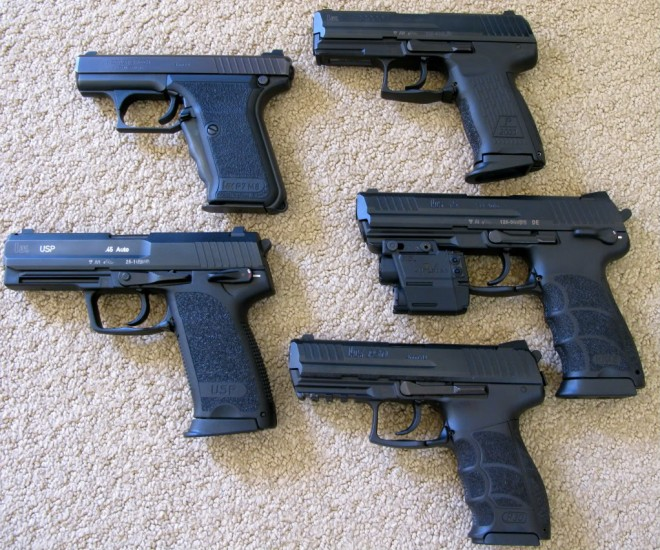 HK 45s On Display