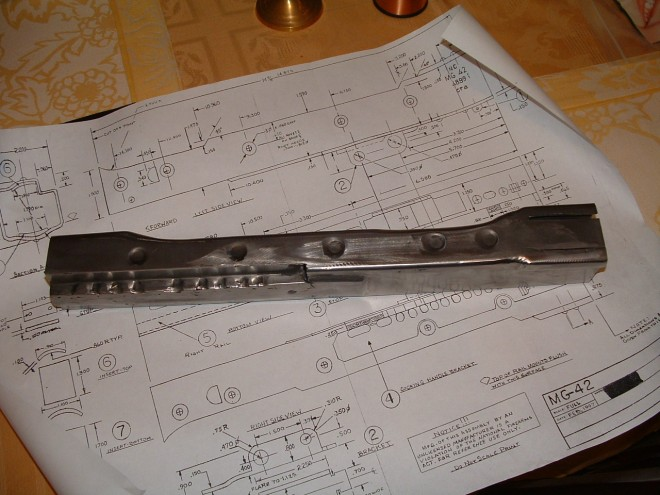MG42 Receiver Blank