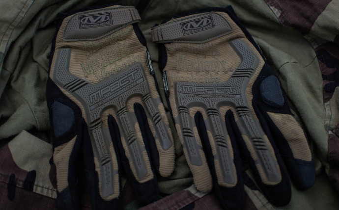 Mechanix M-Pact Coyote Tactical Gloves