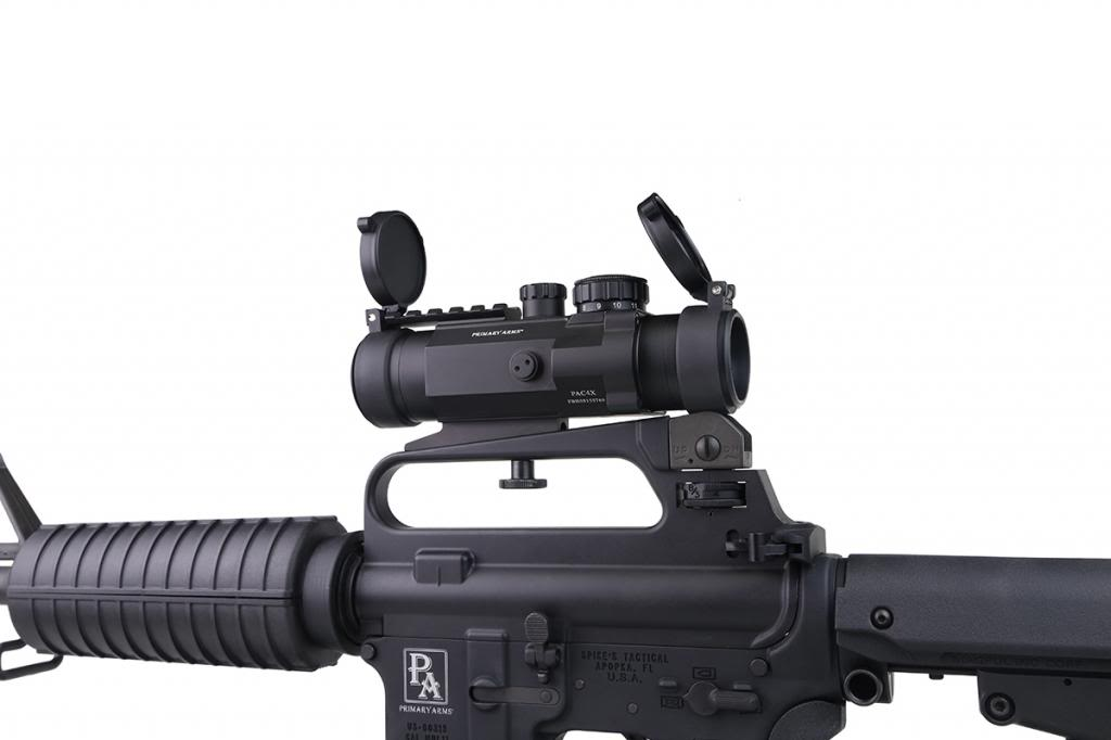 Primary Arms 4x Compact Prism Scope World Class Reticle