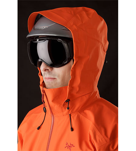 Beta-AR-Jacket-Cognac-Helmet-Compatible-Hood-Front-View