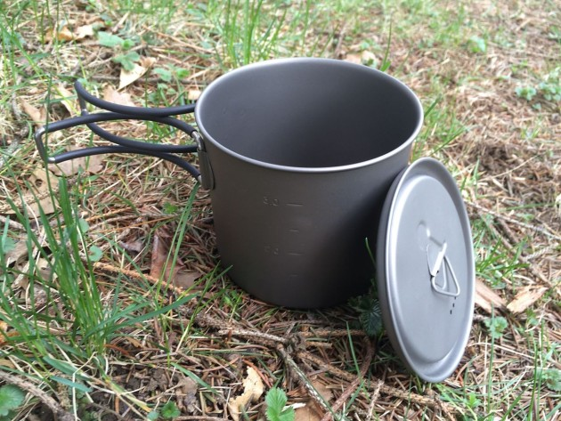 Camping Cup w/ Lid