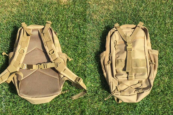 Red Rock Summit   Affordable EDC and Day Hike Pack