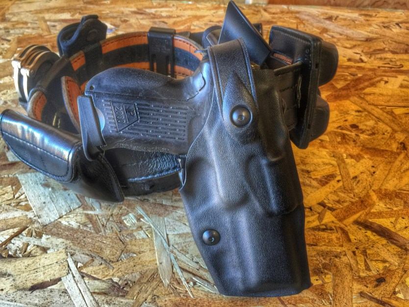 Safariland Level III Retention Duty holster