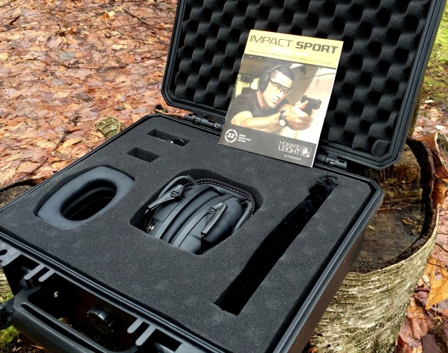 Impact Sport Earmuffs with hard case