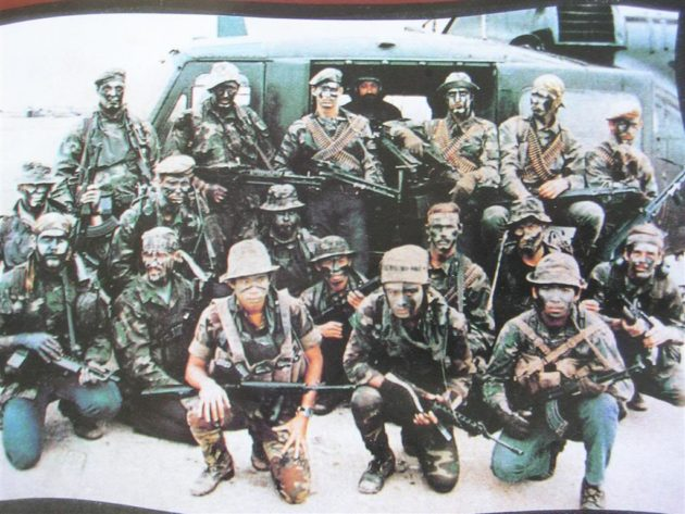 Navy SEALs in Vietnam (photo courtesy of guns.com)