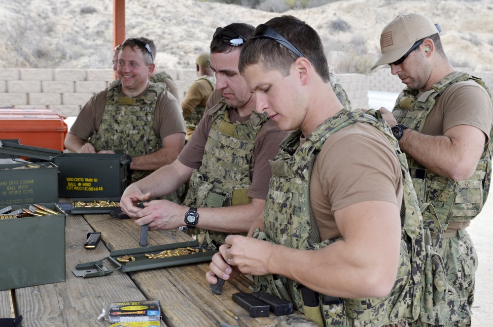 Watch: SEAL Team 6 Pistol Shooting Standards | The Loadout Room