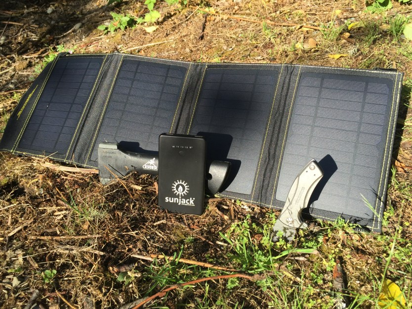 SunJack 14w Portable Solar Charger