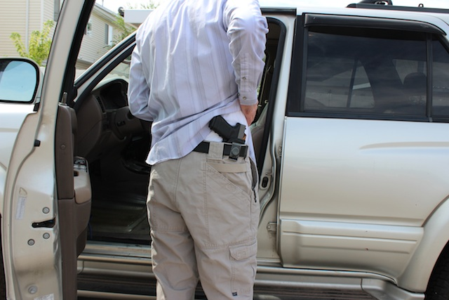 Watch: Weapons Access in Vehicles