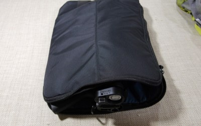 USING A LAPTOP SLEEVE TO AVOID PRINTING