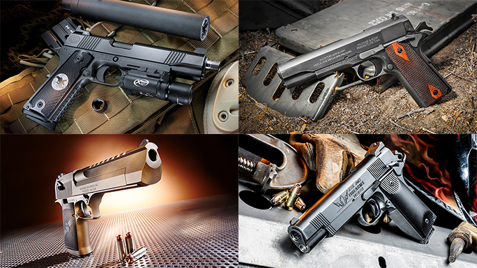 16 Best of the Best Full-Size Pistols From 'Combat Handguns' in 2016