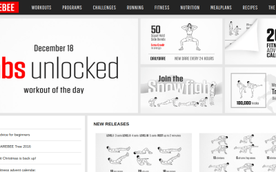 Darebee   Free workouts at your fingertips