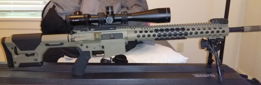 My AR10 SDM Build