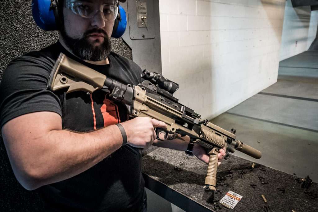 Machine Gun Armory's SAW-K | Hands-on at SHOT Show 2017