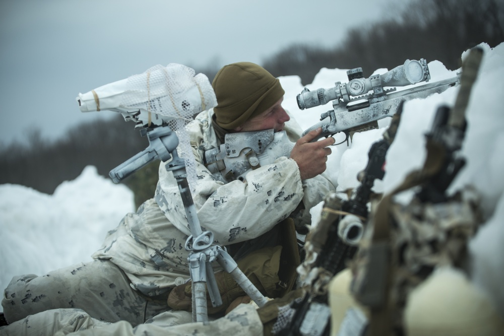 Cold Weather Training With U.S. Marines
