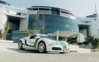 Dubai Police's Bugatti Veyron Named World's Fastest Cop Car