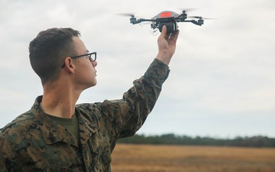 Marine task force headed to Helmand trains with drones called Instant Eye