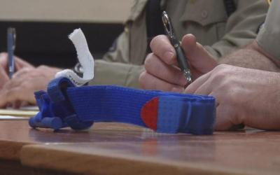 Albemarle County Police get tourniquets after officer uses one to save a man's life