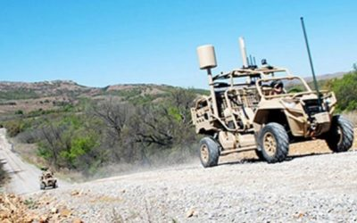 US Army Tests Out New 'Hunter,' 'Killer' Multi-Domain Dune Buggies