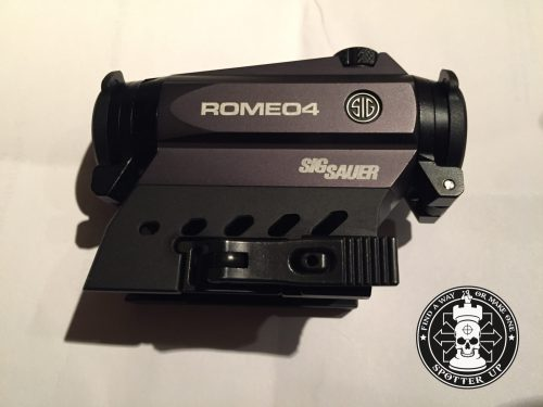 Sig Sauer Romeo 4 Red Dot – Micro Frame, Major Reliability
