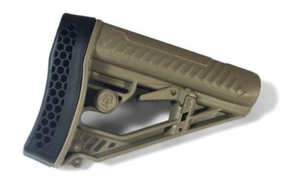 Adaptive Tactical's EX Performance Stock for AR15s & AR10s Now Available in FDE