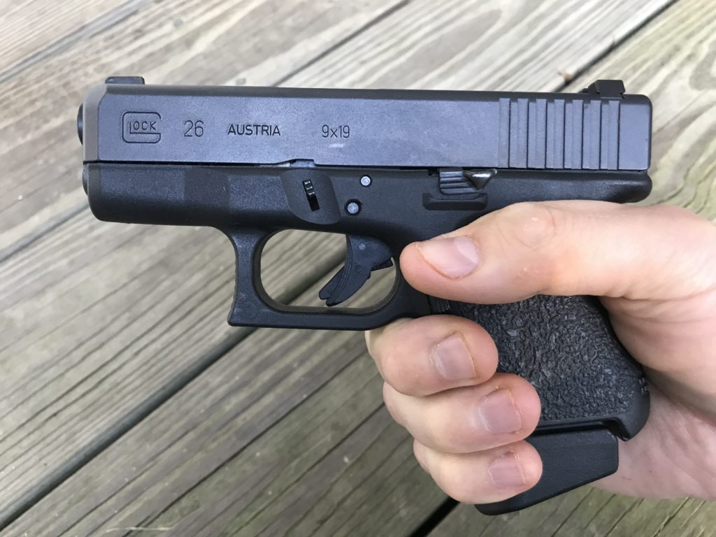 Pearce Grip Glock Sub-Compact Plus Extension
