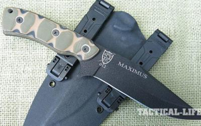 The Maximus Knife: A Practical, Get-It-Done Blade from the Rangers