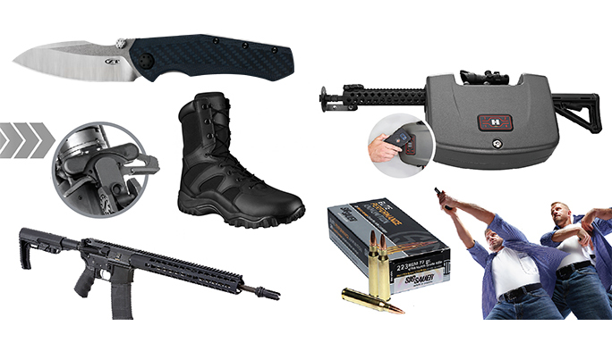 Top to Bottom: 10 Hot Pieces of New Gear for Military, LEOs and Civilians