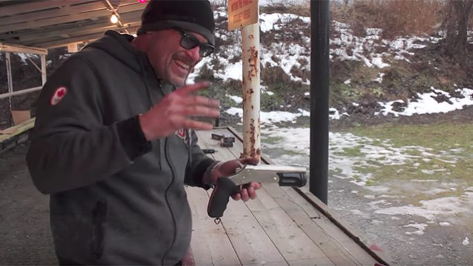 The Rossi 12 Gauge Pistol Actually Hurts Your Hand When Firing