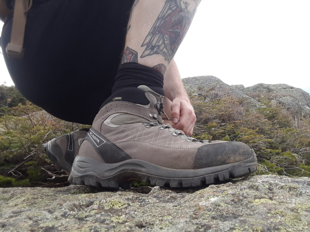 Scarpa Kailash GTX Boots | An Italian on the rocks