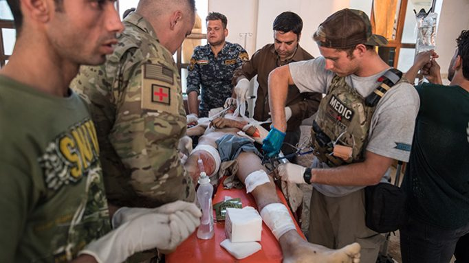 EXCLUSIVE: 22-Year-Old Drops Surfboard to Become Medic in Mosul