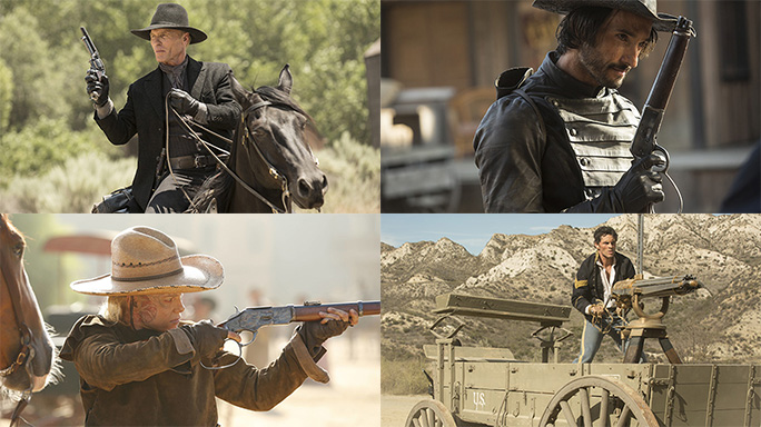 New Old West: The Wonderful Guns of Westworld