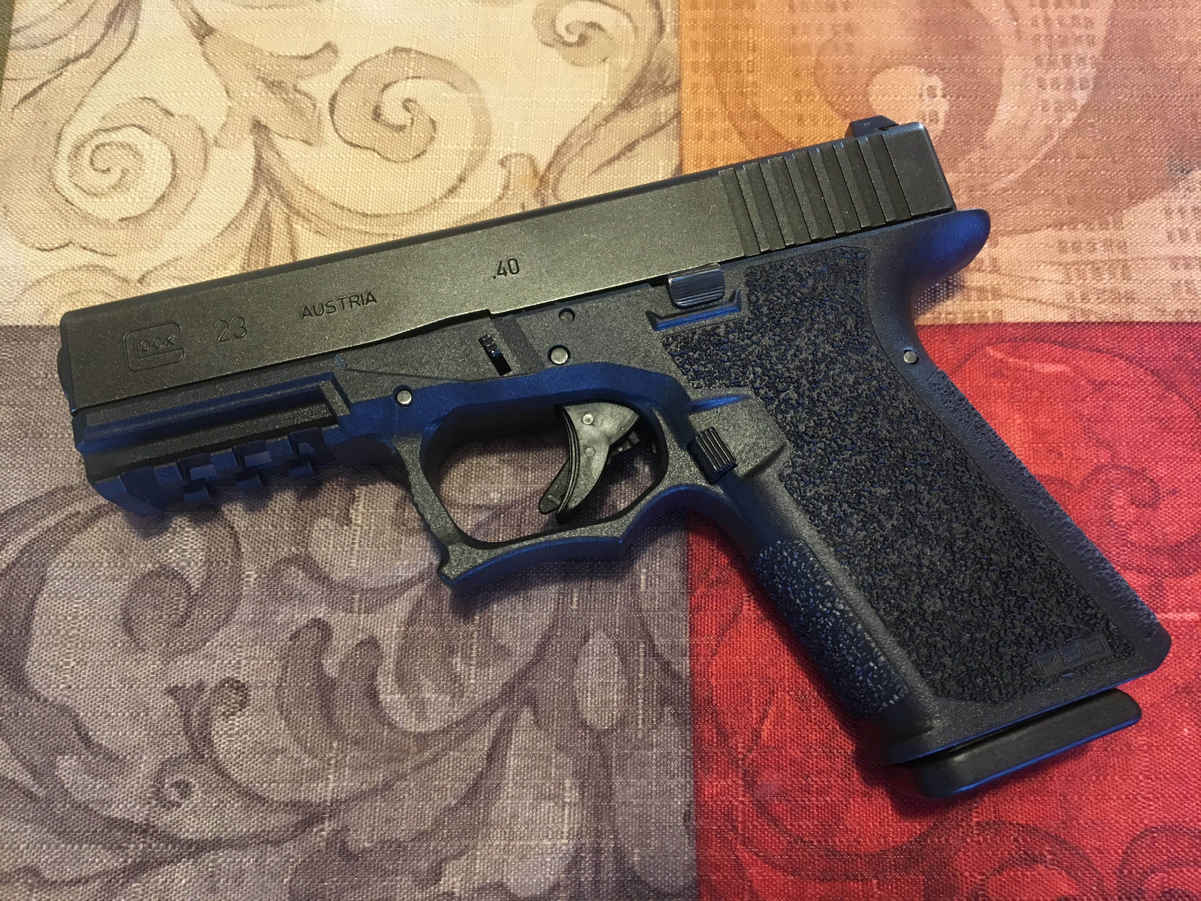Built An 80 Glock Finish It With 80percentglockcom G23 Parts Take Down Pinterest The Showed Little Wear Slide Stop Was Still All Black Every Thing Went Together Just As Should