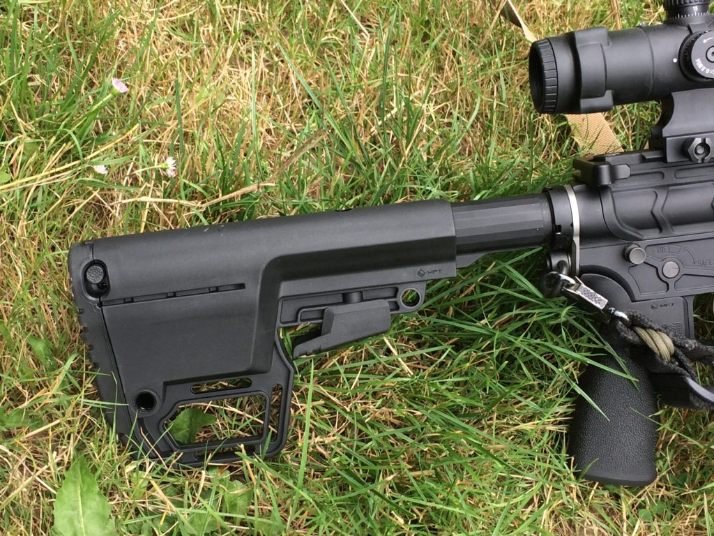 Mission First Tactical's Battlelink Utility Stock   Beard Friendly