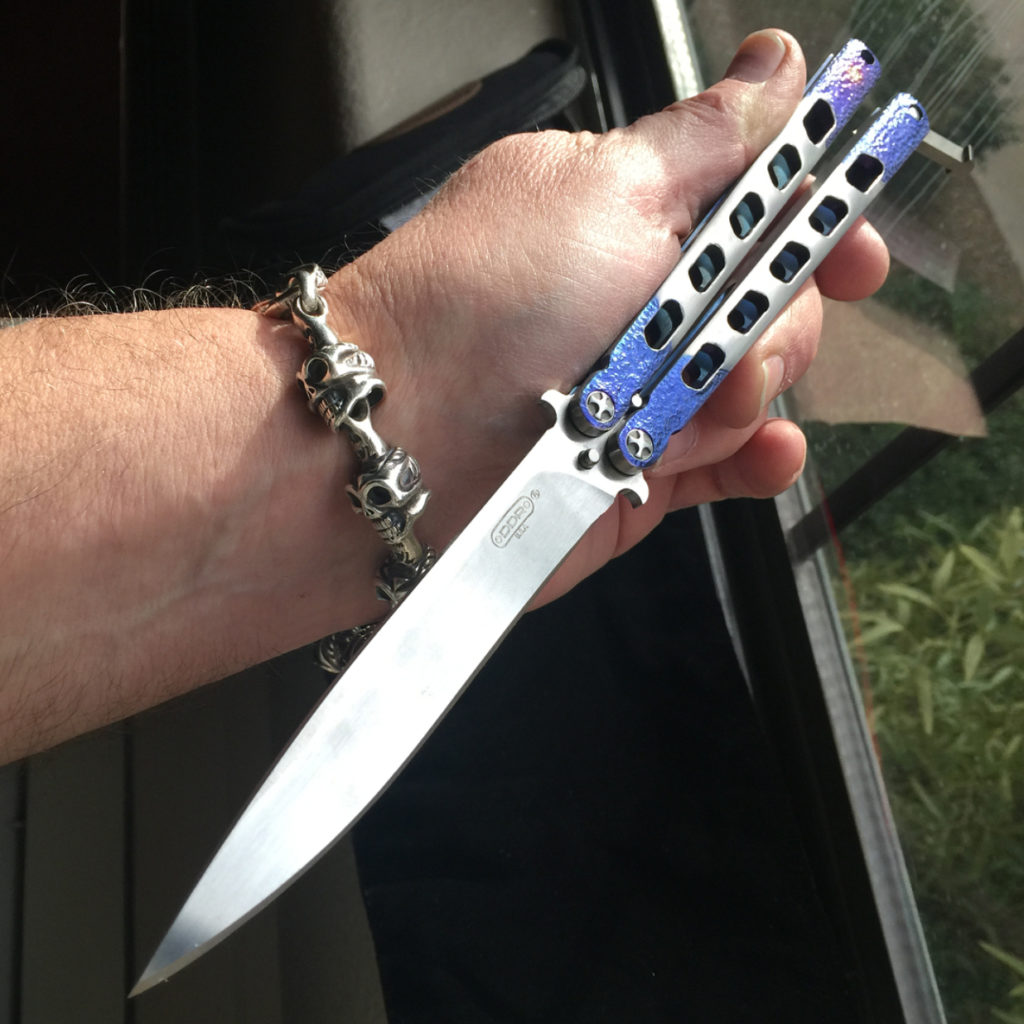 DDR Knives Betting Big on Balisongs