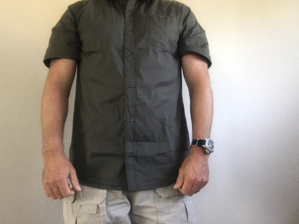 TDI and RE Factor Concealed Carry Jedburg Cover Shirt | Initial Impression