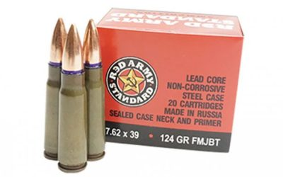 Century Arms Unveils 'Red Army Standard' 7.62x39mm Boat Tail Ammo