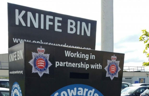 UK Police Delete 'Only Cowards Carry' Knife Bin Social Media Post