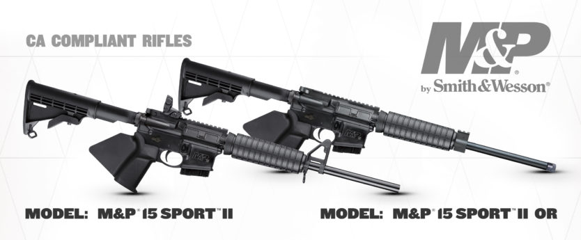 Smith & Wesson Now Shipping California Compliant M&P®15