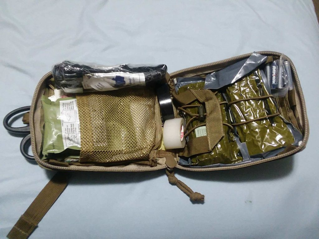 My loadout for the Ukraine