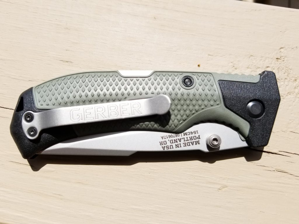 Gerber Edict folding knife (Green)