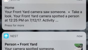 Hard lessons about home security (Part 3): NEST outdoor security camera