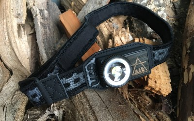 The UCO Air Lithium Ion Rechargeable Headlamp